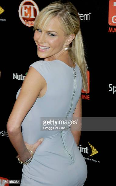 Julie Benz arrives at TV Guide Magazine's Hot List Party at SLS Hotel on November 10 2009 in Los Angeles California