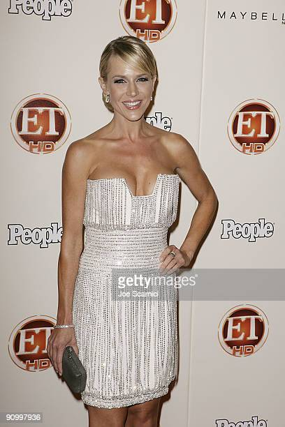 Julie Benz arrives at Vibiana for the 13th Annual Entertainment Tonight and People magazine Emmys After Party on September 20, 2009 in Los Angeles,...