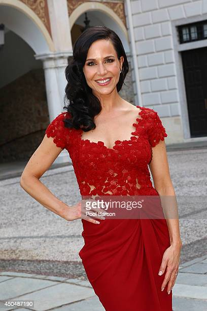 Julie Benz attends a Cocktail Reception at Monaco Palace on June 9 2014 in MonteCarlo Monaco