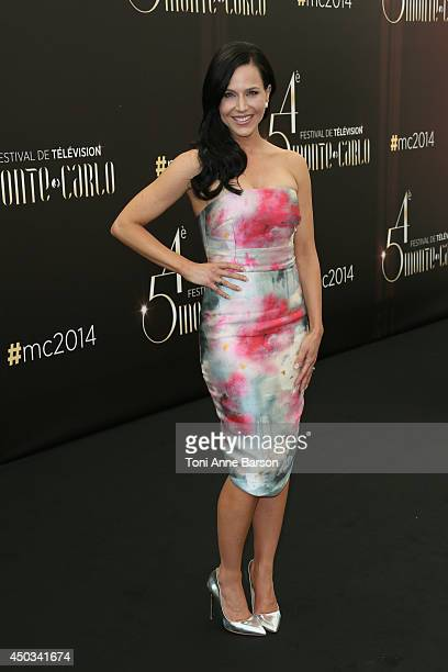 Julie Benz attends 'Defiance' photocall at the Grimaldi Forum on June 9 2014 in MonteCarlo Monaco