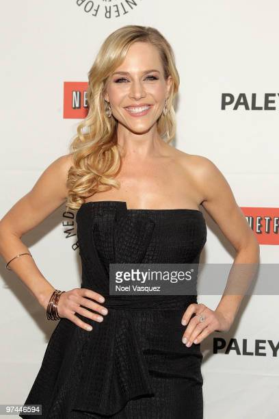Julie Benz attends the 27th Annual PaleyFest presents ''Dexter'' on March 4 2010 in Beverly Hills California