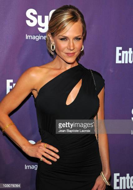 Julie Benz attends the EW and SyFy party during Comic-Con 2010 at Hotel Solamar on July 24, 2010 in San Diego, California.