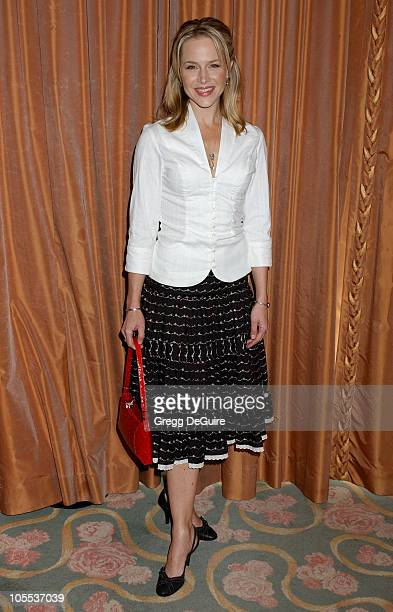 Julie Benz during 3rd Annual Hollywood Bag Ladies Lupus Luncheon Arrivals at Beverly Hills Hotel in Beverly Hills California United States