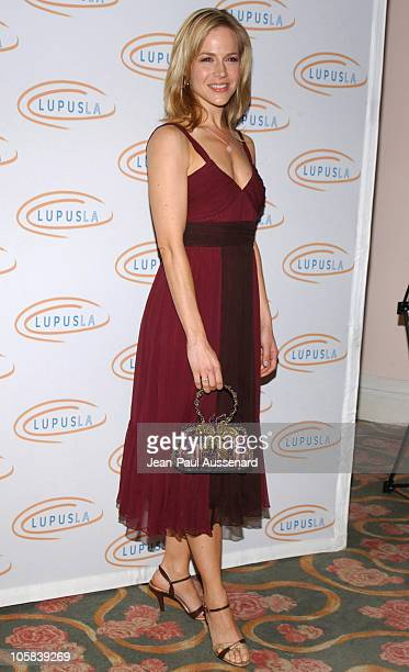 Julie Benz during 6th Annual Lupus Gala Arrivals at Beverly Hills Hotel in Beverly Hills California United States