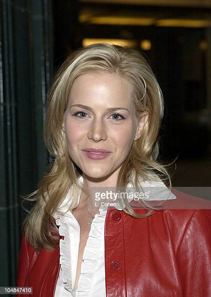 Julie Benz during A Closer Walk Screening at Los Angeles County Museum of Art in Los Angeles CA United States
