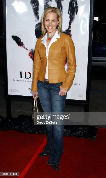 Julie Benz during Identity Premiere at Grauman's Chinese Theatre in Hollywood California United States