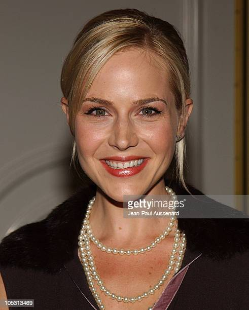 Julie Benz during Lupus LA and InStyle Present The Old Bags Lupus Luncheon at Beverly Hills Hotel in Beverly Hills California United States