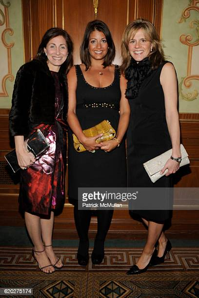 Julie Berman, Amy Focazio and Jennifer Mann attend 25TH ANNUAL WOMEN IN NEED GALA DINNER at The Pierre Hotel on April 9, 2008 in New York City.