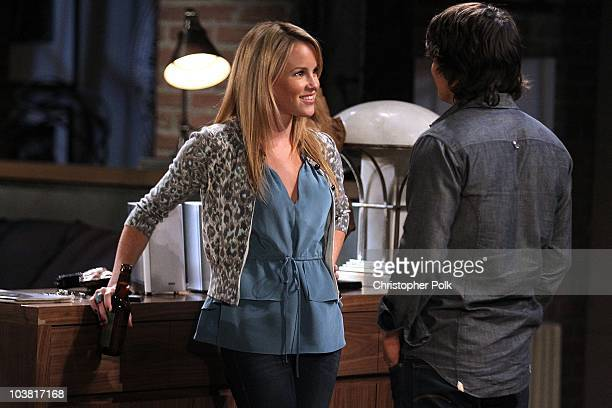 Julie Berman and Dominic Zamprogna in a scene that airs the week of September 20 2010 on ABC's GENERAL HOSPITAL