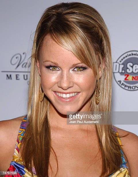 Julie Berman at the The Playboy Mansion in Los Angeles California