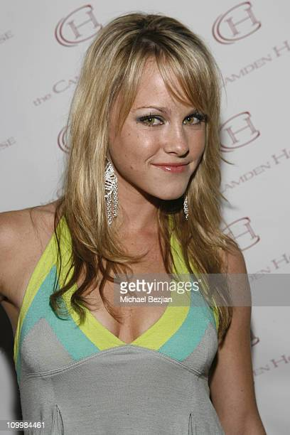 Julie Berman during The Camden House of Beverly Hills Grand Opening at The Camden House of Beverly Hills in Los Angeles California United States