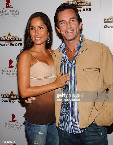 Julie Berry and Jeff Probst during 3rd Annual Runway For Life Benefiting St Jude Children's Research Hospital Arrivals at Beverly Hilton in Beverly...