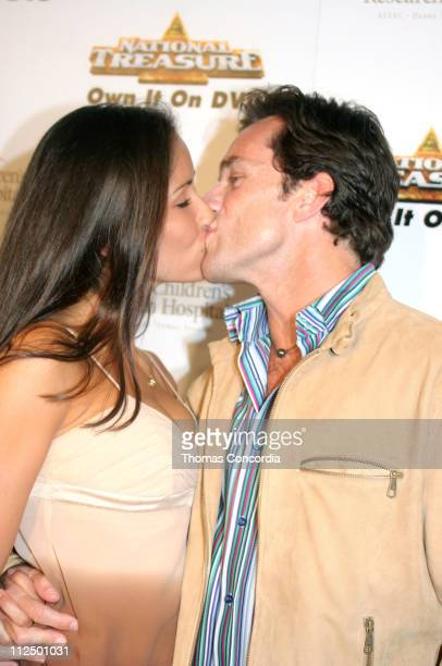 Julie Berry and Jeff Probst during 3rd Annual Runway For Life Benefiting St Jude Children's Research Hospital Red Carpet at Beverly Hilton in Beverly...