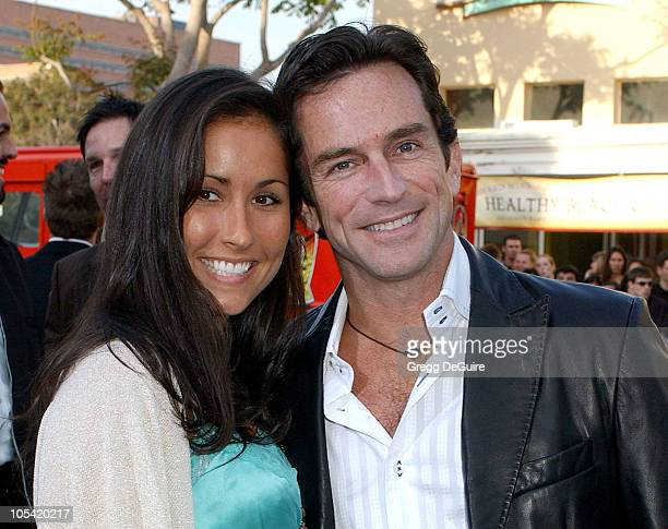 Julie Berry and Jeff Probst during House of Wax Los Angeles Premiere Arrivals at Mann Village Theatre in Westwood California United States