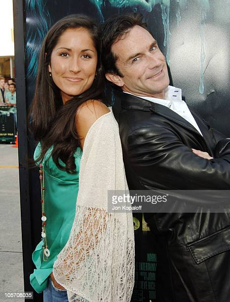 Julie Berry and Jeff Probst during House of Wax Los Angeles Premiere Outside Arrivals at Mann Village Theater in Westwood California United States