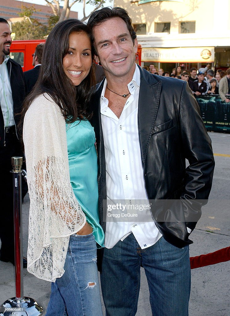 Julie Berry and Jeff Probst during 'House of Wax' - Los Angeles Premiere - Arrivals at Mann Village Theatre in Westwood, California, United States.