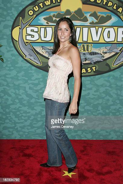 Palau Finale and Reunion Show Arrivals at Ed Sullivan Theatre in New York City New York United States