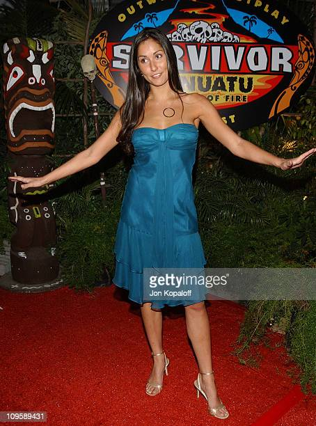 Julie Berry during Survivor Vanuatu Islands Of Fire Finale Party at CBS Television City in Los Angeles California United States