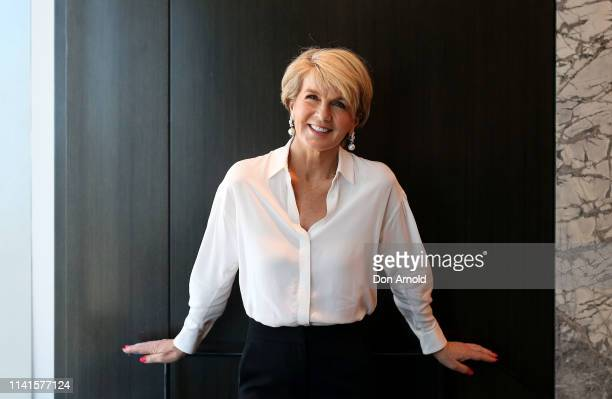 Julie Bishop attends the 2019 White Shirt Campaign Launch on April 10 2019 in Sydney Australia