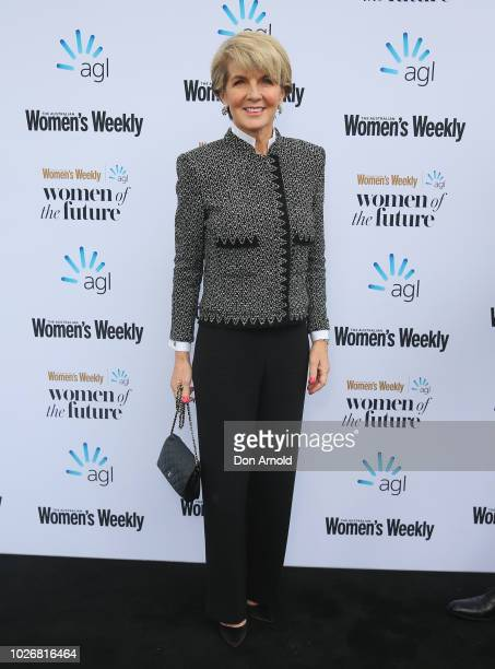 Julie Bishop attends the Women of the FutureAwards at Quay on September 5 2018 in Sydney Australia