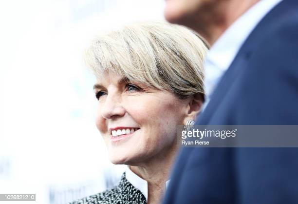 Julie Bishop Member for Curtin attends the Women of the Future Awards at Quay on September 5 2018 in Sydney Australia