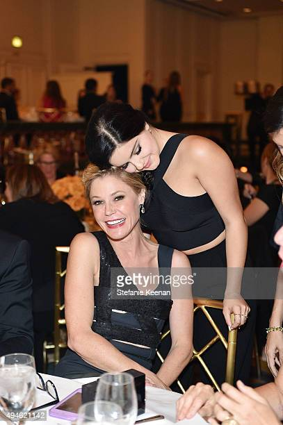 Julie Bowen and Ariel Winter attend 2015 International Women's Media Foundation Courage Awards Los Angeles at Regent Beverly Wilshire Hotel on...
