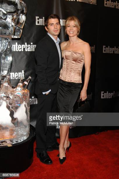 Julie Bowen and Scott Phillips attend Entertainment Weekly Hosts 10th Annual Academy Awards Viewing Party at Elaine's on February 29 2004 in New York...