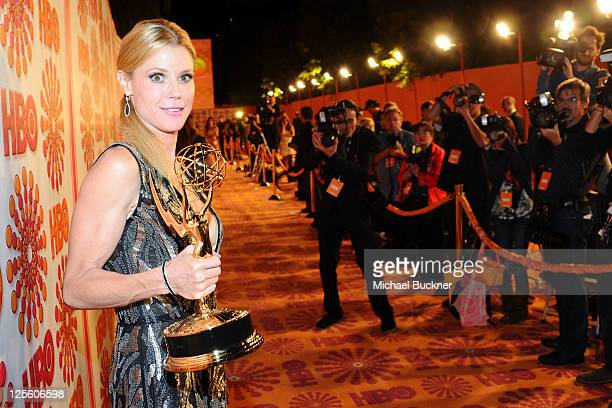 Julie Bowen arrives at HBO's Annual Emmy Awards Post Award Reception Arrivals on September 18 2011 in Los Angeles California