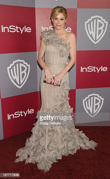 Julie Bowen arrives at the 12th Annual Warner Bros and Instyle PostGolden Globe Party at the Beverly Hilton Hotel on January 16 2011 in Beverly Hills...