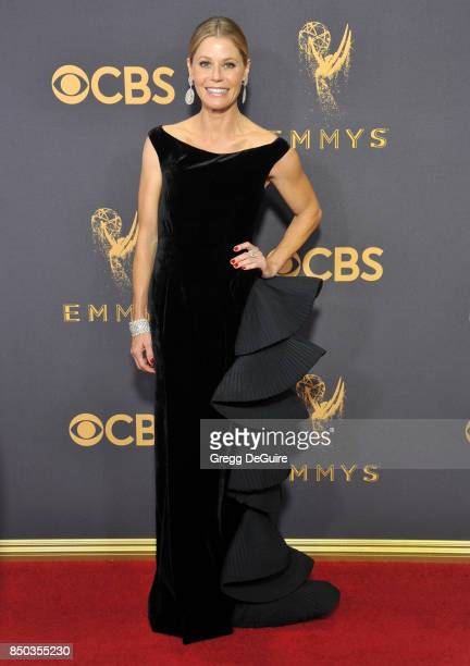 Julie Bowen arrives at the 69th Annual Primetime Emmy Awards at Microsoft Theater on September 17 2017 in Los Angeles California