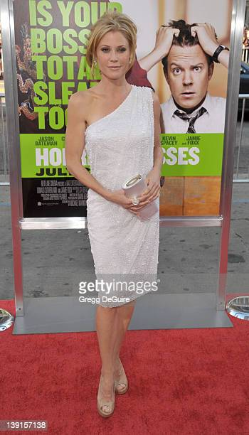 Julie Bowen arrives at the Los Angeles Premiere of Horrible Bosses at the Grauman's Chinese Theatre on June 30 2011 in Hollywood California