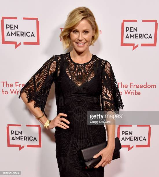 Julie Bowen arrives at the PEN America 2018 LitFest Gala at the Beverly Wilshire Four Seasons Hotel on November 2 2018 in Beverly Hills California