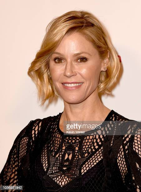 Julie Bowen arrives at the PEN America LitFest Gala at the Beverly Wilshire Hotel on November 2, 2018 in Beverly Hills, California.