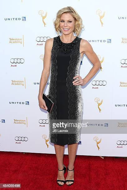 Julie Bowen arrives at the Television Academy's 66th Emmy Awards Performance Nominee Reception at the Pacific Design Center on Saturday Aug 23 in...