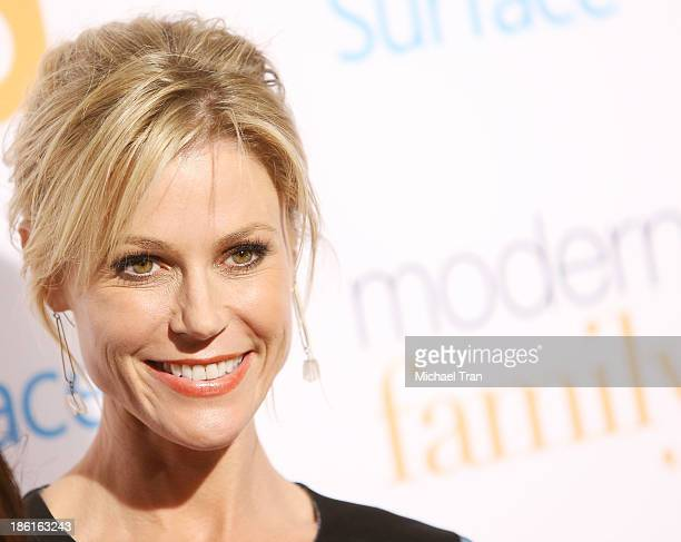 Julie Bowen arrives at USA Network Hosts 'Modern Family' fan appreciation day held at Westwood Village Theatre on October 28 2013 in Westwood...