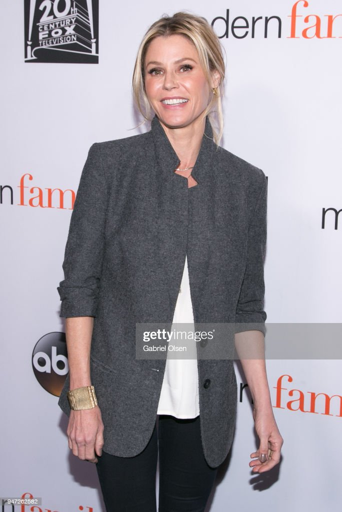Julie Bowen arrives for the FYC Event for ABC's 'Modern Family' at Avalon on April 16, 2018 in Hollywood, California.