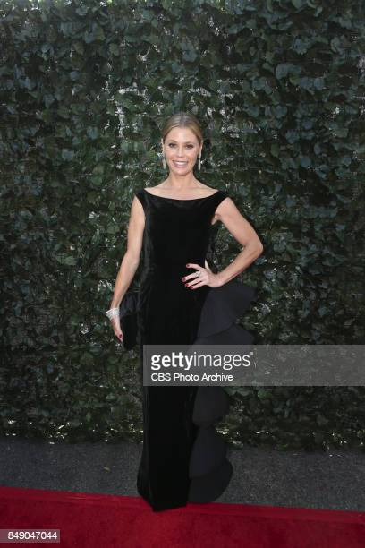 Julie Bowen arrives on the red carpet at the 69TH PRIMETIME EMMY AWARDS LIVE from the Microsoft Theater in Los Angeles Sunday Sept 17 on the CBS...