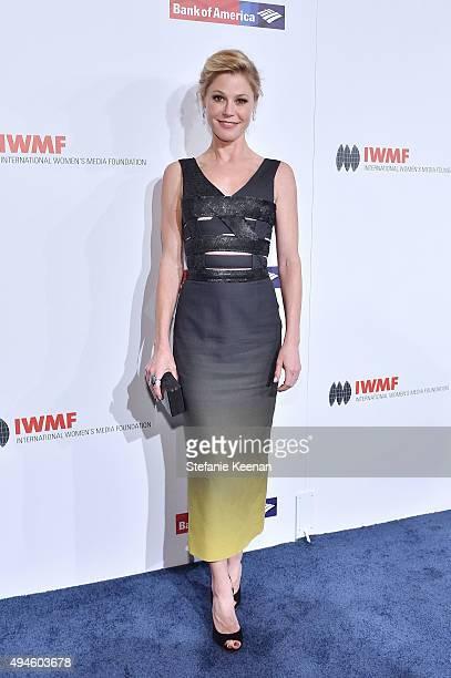 Julie Bowen attends 2015 International Women's Media Foundation Courage Awards Los Angeles at Regent Beverly Wilshire Hotel on October 27 2015 in...