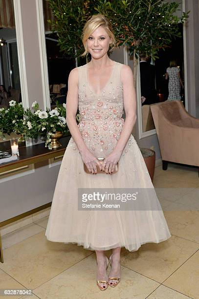 Julie Bowen attends Harper's BAZAAR celebration of the 150 Most Fashionable Women presented by TUMI in partnership with American Express La Perla and...