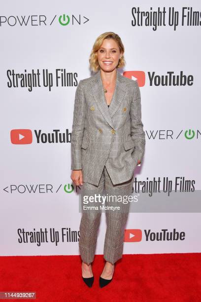 Julie Bowen attends Power On Premiere By Straight Up Films With Support From YouTube at Google Playa Vista Office on April 24 2019 in Playa Vista...