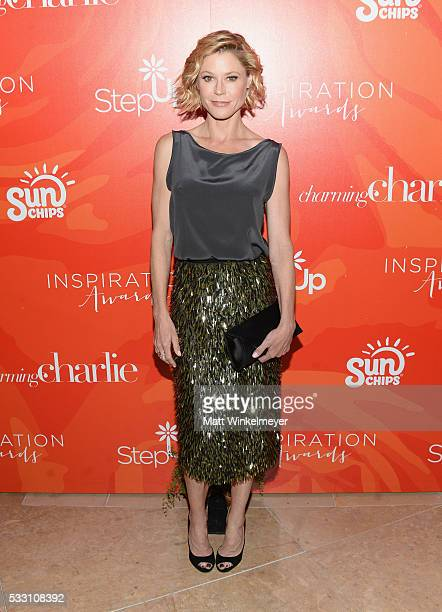 Julie Bowen attends Step Up's 13th Annual Inspiration Awards at The Beverly Hilton Hotel on May 20 2016 in Beverly Hills California