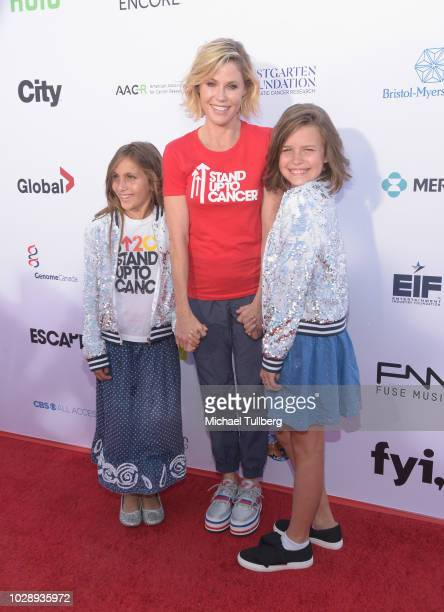 Julie Bowen attends the 2018 Stand Up To Cancer fundraising special telecast at Barker Hangar on September 7 2018 in Santa Monica California