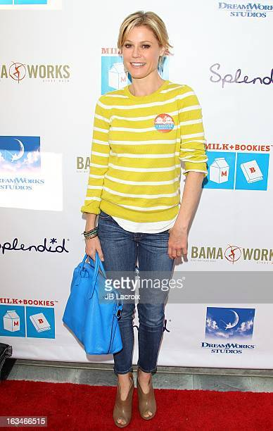 Julie Bowen attends the 4th Annual Milk Bookies Story Time Celebration at Skirball Cultural Center on March 10 2013 in Los Angeles California