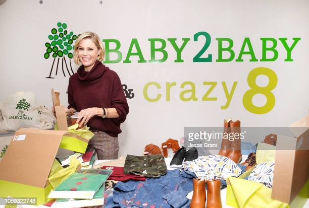 Julie Bowen Baby2Baby Ambassador Supports Crazy 8's Holiday Giving Campaign with Baby2Baby at Baby2Baby Headquarters on October 11 2018 in Los...