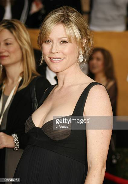 Julie Bowen during 13th Annual Screen Actors Guild Awards - Arrivals at Shrine Auditorium in Los Angeles, California, United States.