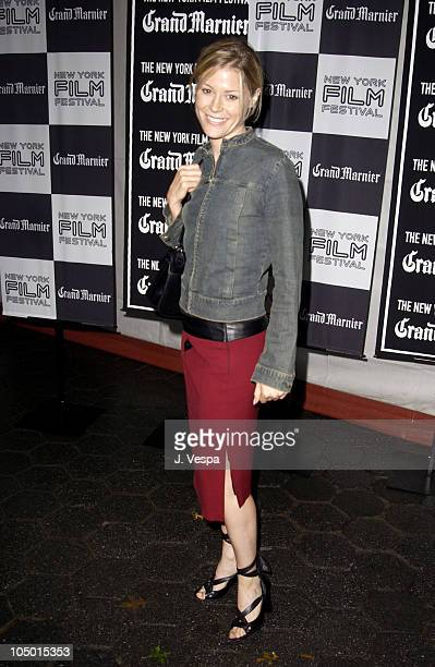"""Julie Bowen during 40th New York Film Festival - Opening Night Party for """"About Schmidt"""" at Tavern on the Green in New York, New York, United States."""