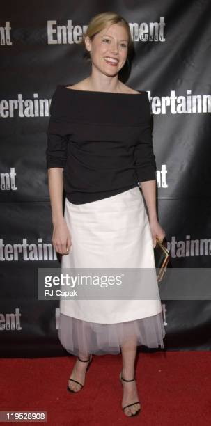 Julie Bowen during Entertainment Weekly 8th Annual Academy Awards Viewing Party at Elaine's in New York City, New York, United States.