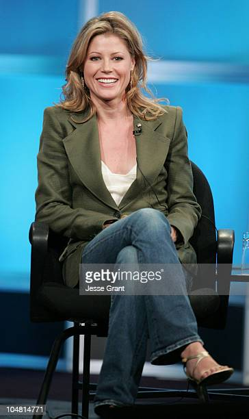 Julie Bowen of Boston Legal during ABC 2005 Summer Press Tour at Beverly Hilton in Beverly Hills California United States