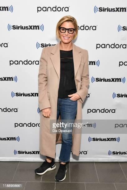 Julie Bowen visits SiriusXM Studios on November 20, 2019 in New York City.