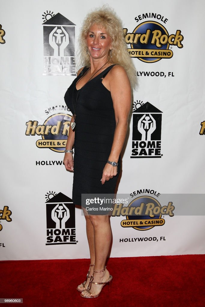 Julie Bower of Police Women of Broward County attends Clarence Clemons Classic Benefitting Homesafe at Seminole Hard Rock Hotel on May 8, 2010 in Hollywood, Florida.
